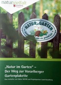 Gartenplakette Faktor Natur